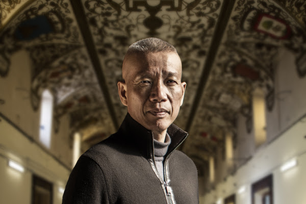 Cai Guo-Qiang. Foto: Javier Molina.
