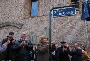 Manuel Carmena en el homenaje a Arturo Barea.
