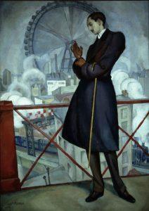 Diego Rivera. Retrato de Adolfo Best Maugard, 1913.