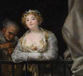 Francisco de Goya. La celestina y su hija (detalle).