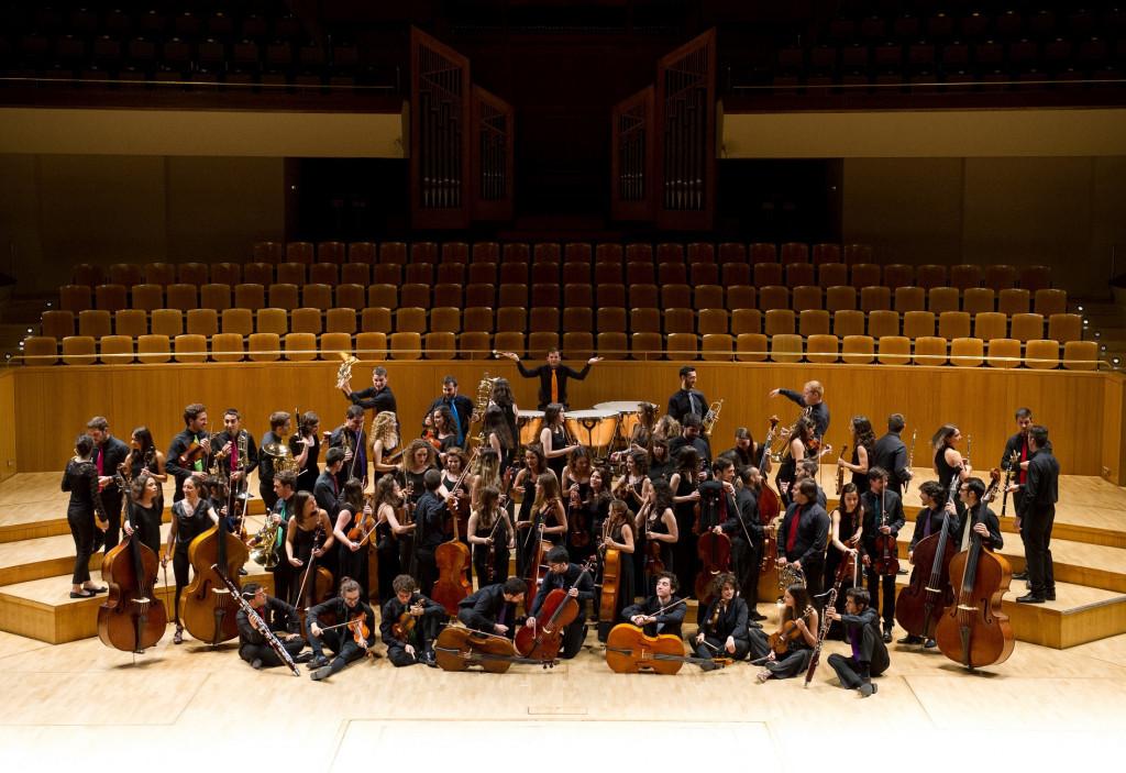 Joven Orquesta Nacional de España. Foto: Rafa Martín.