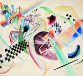 Kandinsky. Sobre fondo blanco I, 1920.