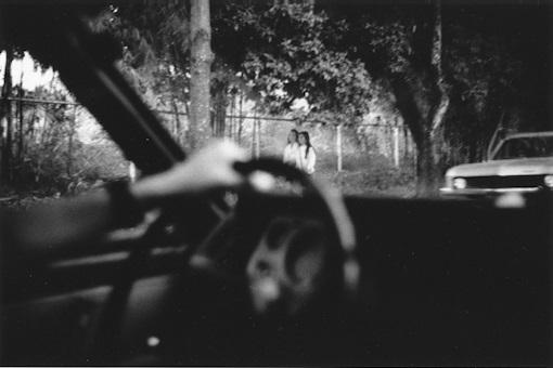 Ricardo Jiménez. Caracas desde el carro, 1993.