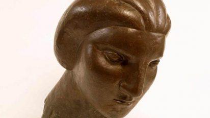 Picasso. Cabeza de mujer (Marie-Thérèse). 1931. Bronce 41,3 cm. Col·lecció particular.