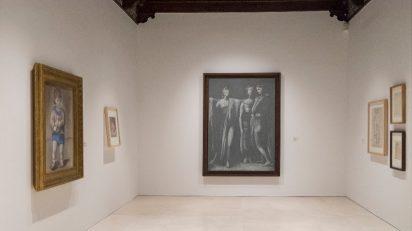 Vista de una de las nuevas salas de la pinacoteca malagueña desde el 14 de marzo. © Museo Picasso Málaga.