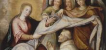 Imposición de la casulla a San Ildefonso (detalle). Juan Sánchez Cotán.