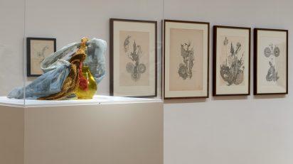 Vista de la exposición Mário Pedrosa. De la naturaleza afectiva de la forma. Museo Nacional Centro de Arte Reina Sofía, Madrid. Foto: Joaquín Cortés/Román Lores.