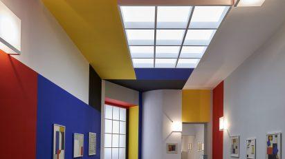 Vista de la exposición Kobro y Strzemiński. Prototipos vanguardistas. Museo Nacional Centro de Arte Reina Sofía. Foto: Joaquín Cortés/Román Lores.