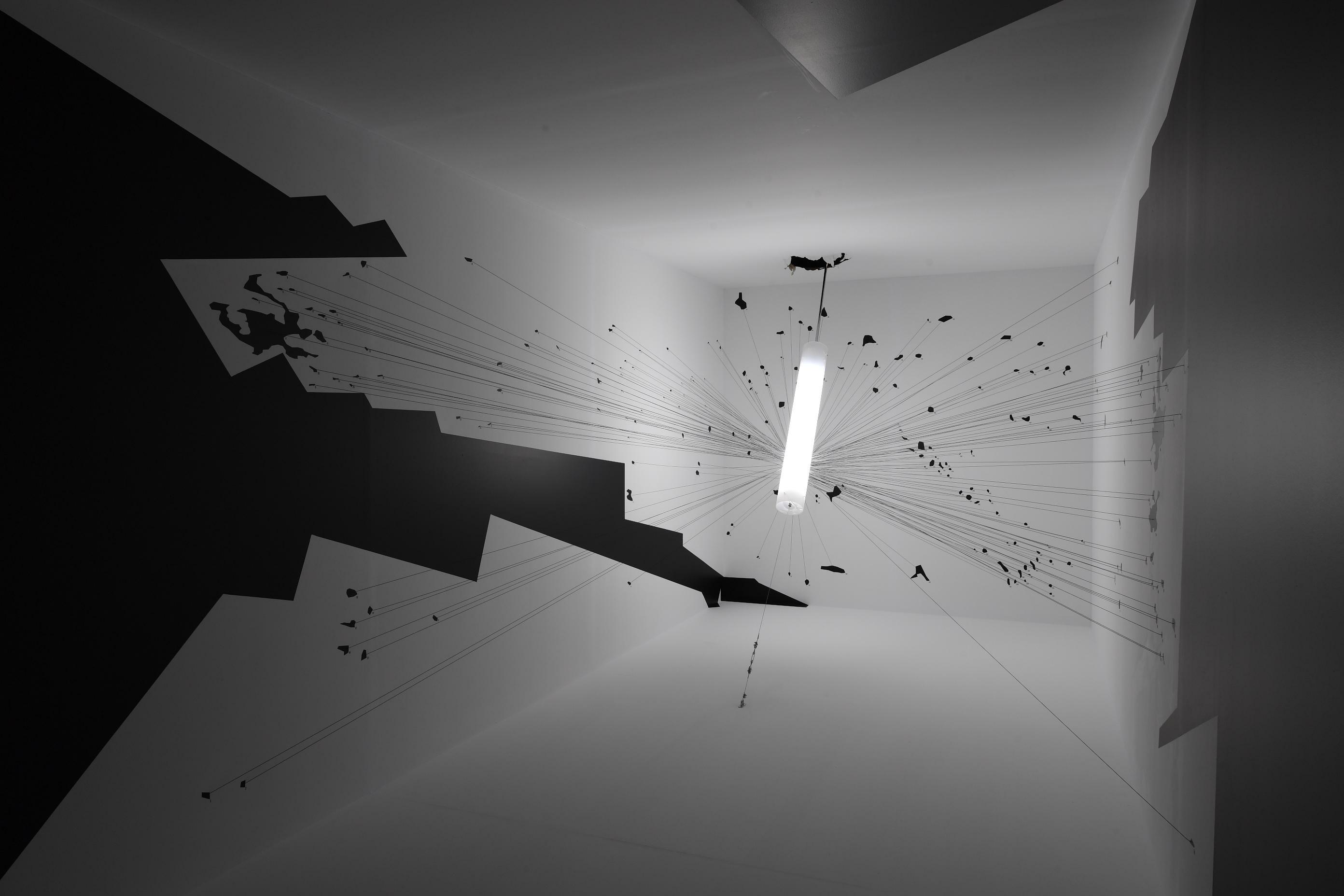 Vista de la exposición Forensic Architecture. Hacia una estétitca investigativa. MACBA, 2017. Foto: Miquel Coll.