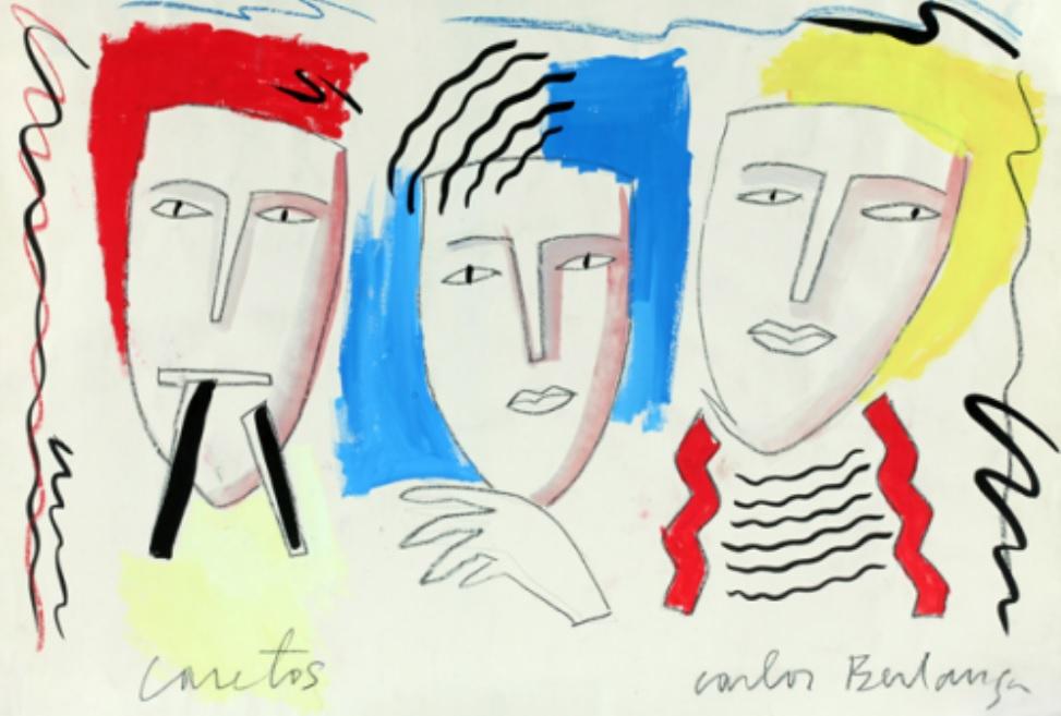 Carlos Berlanga, Caretos, 1982.