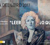 Javier Sáez Castán. Cartel Día del Libro 2017.
