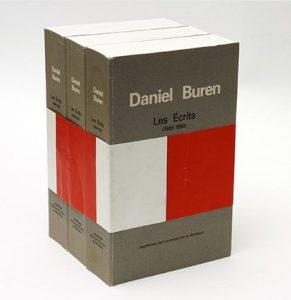 Daniel Buren. Les Écrits, 1965-1990.