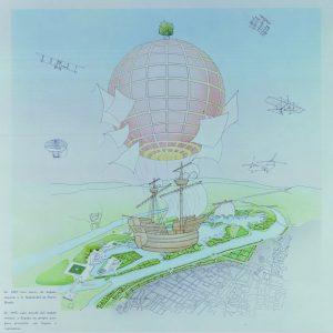 Emilio Ambasz. Plan maestro para la Exposición Universal de 1992, Sevilla, diseñado en 1986.
