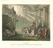 Giussepe Bramatti y Alessandro Angeli. Telón de embocadura. Sipario, 1821.