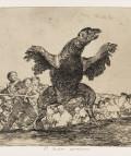 Francisco de Goya. El buitre carnívoro, 1863.