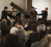 Leipzig Quartet en SMRC 2016.