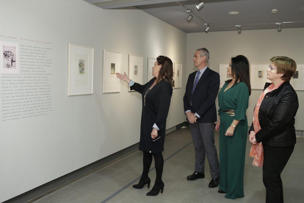 Exposición 'Los caprichos de Goya de Dalí'.