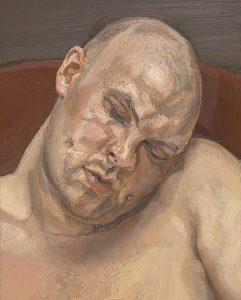Lucian Freud. Leigh Bowery, 1991. Óleo sobre lienzo, 51 x 40,9 cm. Tate: donación anónima, 1994. © Tate, Londres 2017 © The Lucian Freud Archive/Bridgeman Images.