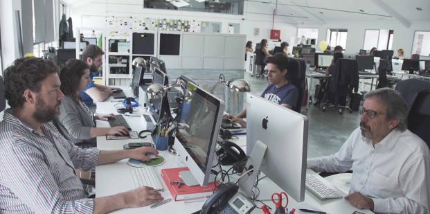 Nueva sede de hoyesarte.com. Foto: Eduardo García.