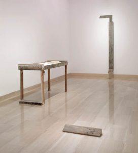 """Miroslaw Balka. Good God [Buen Dios], 1990. Colección """"la Caixa"""" de Arte Contemporáneo."""
