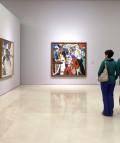 """""""Bacon, Freud y la Escuela de Londres"""". Museo Picasso Malaga. © MPM / jesusdominguez.com. © MPM/jesusdominguez.com"""
