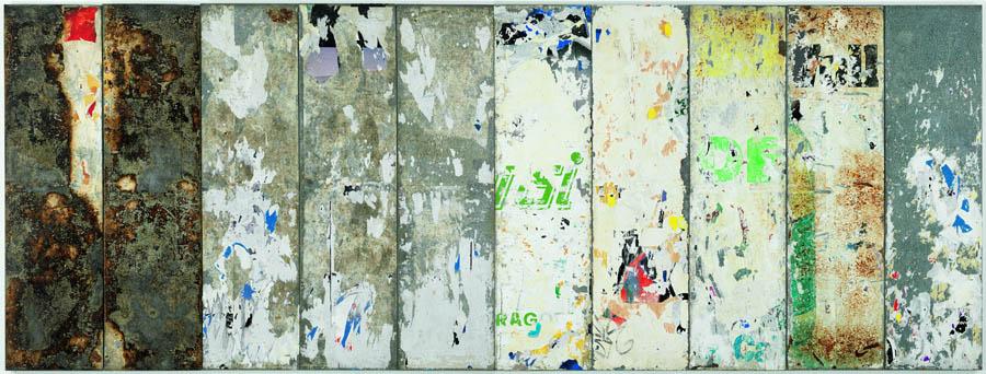 raymond-hains-i-sin-titulo-i-1998-papel-sobre-metal-coleccion-macba-fundacion-macba-donacion-del-artista