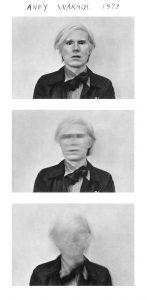 Duane Michals. Andy Warhol, 1973.