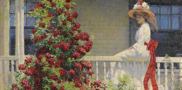 El jardin del artista Impresionismo americano