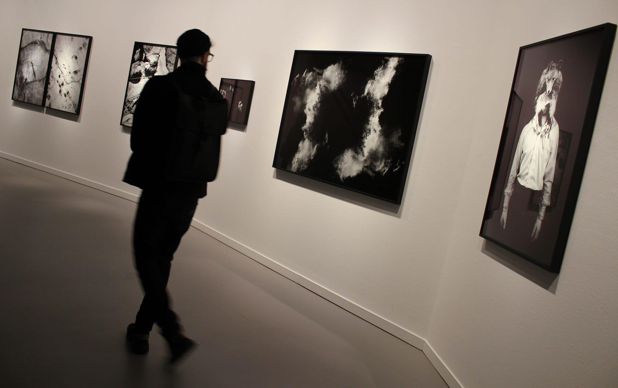 Exposición 'Un cierto panorama, reciente fotografía de autor en España'. Foto: Sonia Aguilera.