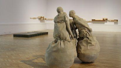 Conversation Piece de Juan Muñoz en La Galleria Nazionale. © Alessia Tobia.