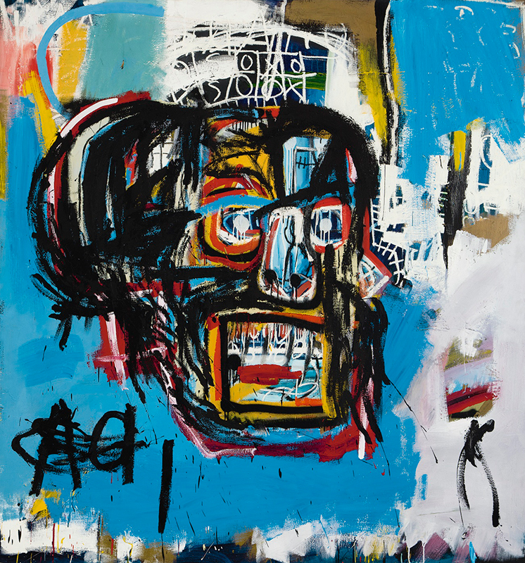Jean-Michel Basquiat, Untitled, 1982.