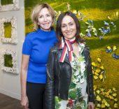 María Porto, directora del Espacio de las Artes, y Olga Andrino. Foto: El Corte Inglés.