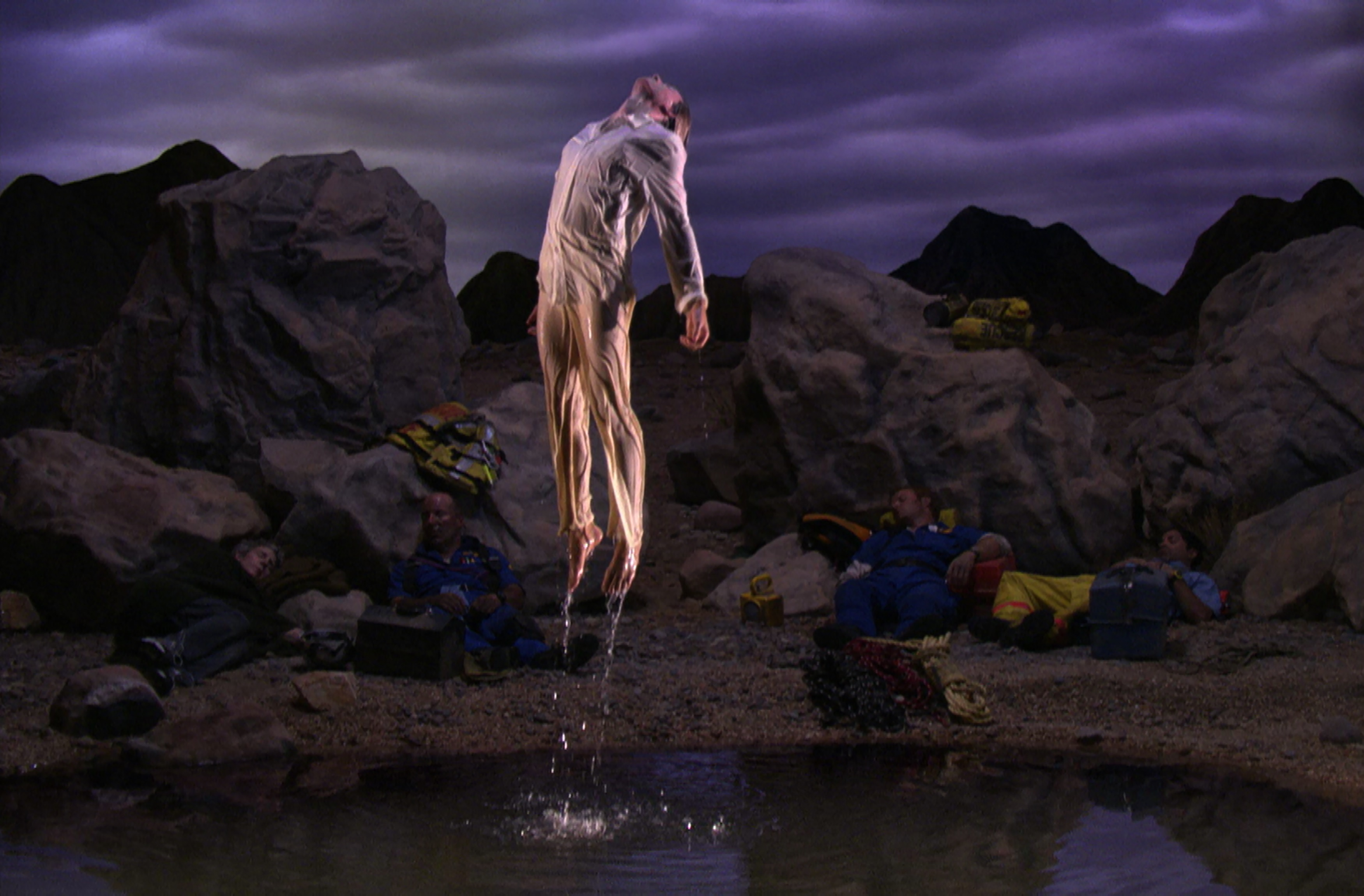 Bill Viola. Primera luz (First Light), 2002.