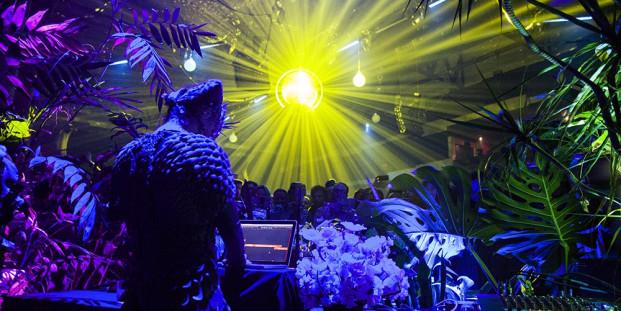 Björk DJ Set. Foto: Santiago Felipe.