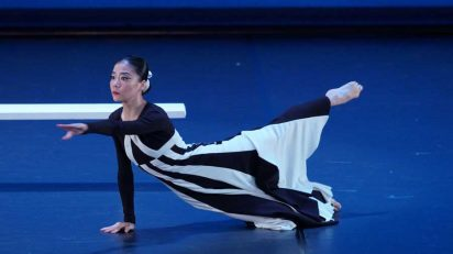 Martha Graham Dance Company. DEEP SONG. Bailarina, Xin Ying. Fotógrafo: @ Javier del Real / Teatro Real.