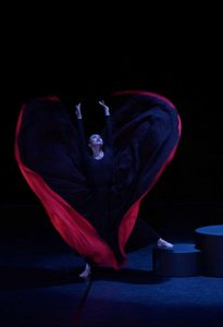 Martha Graham Dance Company. CHRONICLE. Bailarina, PiJu Chien-Pott. Fotógrafo: @ Javier del Real / Teatro Real.