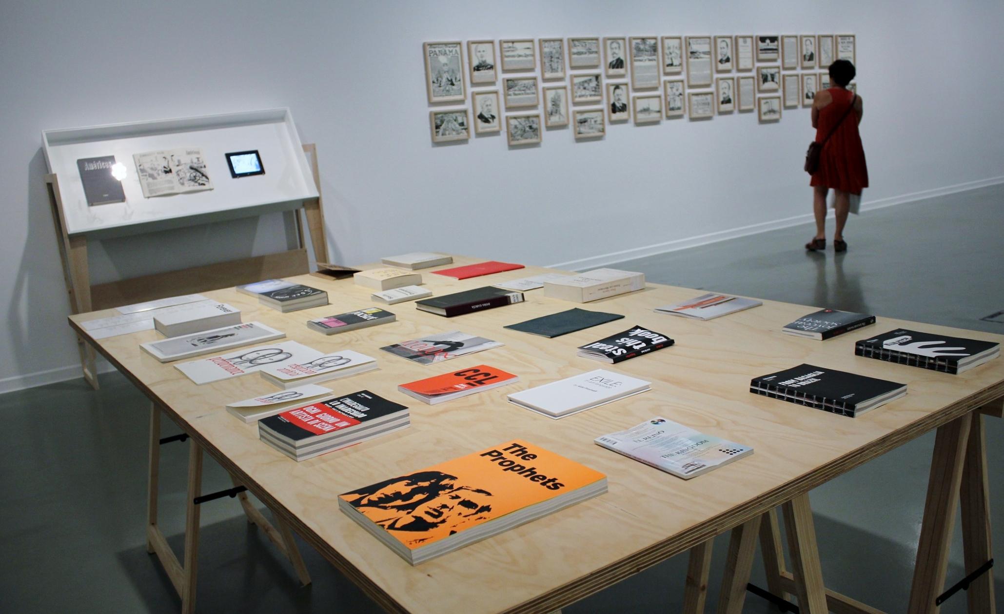 Exposición 'Bibliotecas insólitas. Foto: Sonia Aguilera.