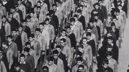 Fernando Nuño, serie Estudiantes, Universidad Laboral de Gijón, 1968-1969.