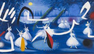 Joan Miró. Ballet romantique, 1974.