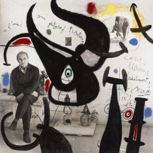 Joan Miró. Pintura, 1968.