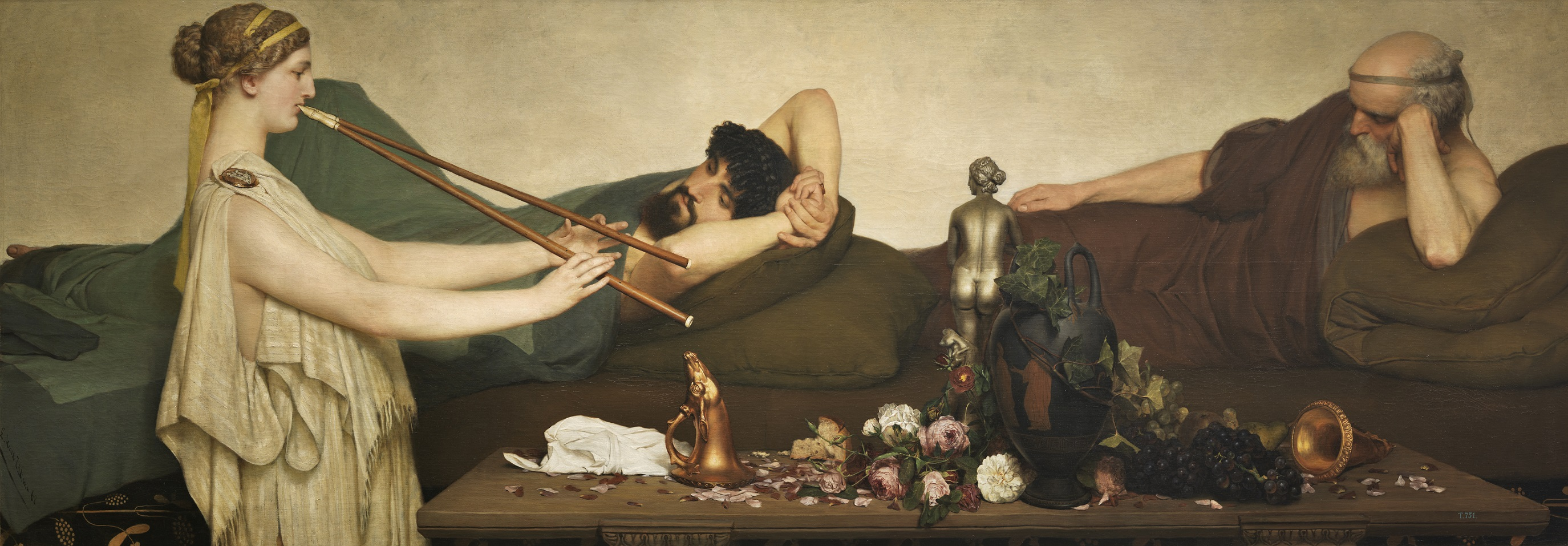 Lawrence Alma-Tadema. La siesta.