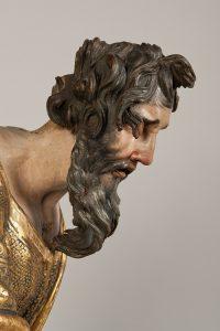 Patriarca. 1526-1532. Alonso Berruguete. Madera policromada. Museo Nacional de Escultura.