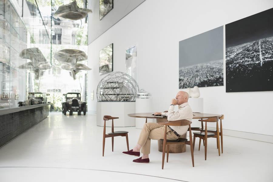 The Pavillion Norman Foster Foundation Madrid. © Guillermo Rodríguez.
