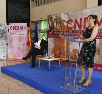 Antonio Moral, director del CNDM, junto a Montserrat Iglesias, directora general del INAEM.