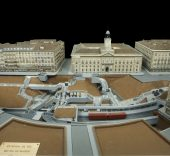 Estación de Metro Puerta del Sol. Exposición 'Maquetas y modelos históricos'.