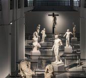 """Exposición """"Canon"""" de Mateo Maté en la sala Alcalá 31 de la Comunidad de Madrid."""