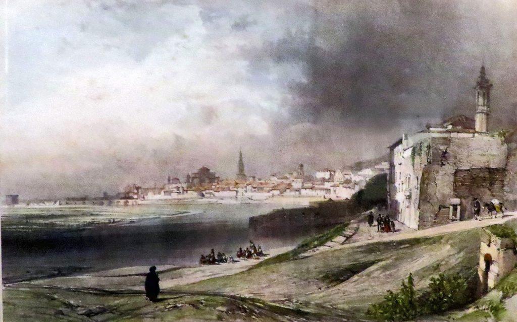 Nicolas Chapuy. Vista general de Córdoba, 1844.