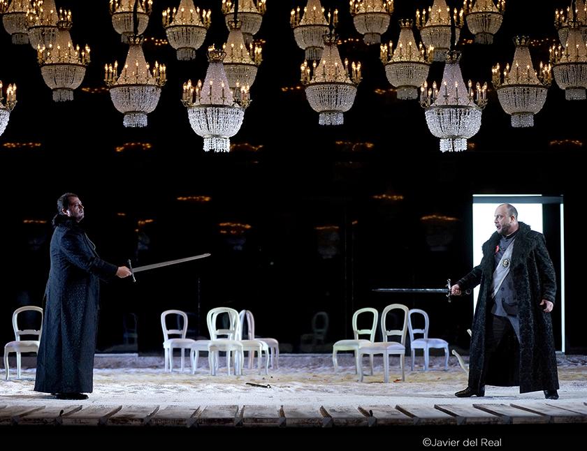 I puritani. Foto: Javier del Real / Teatro Real.