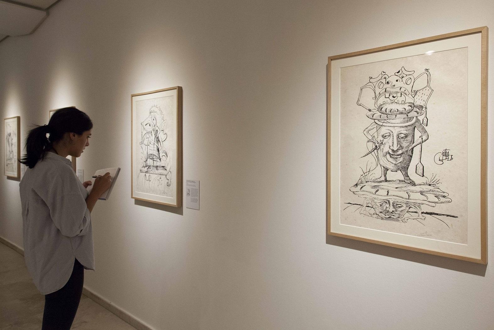 Exposición 'Salvador Dalí. Los sueños caprichosos de Pantagruel'.