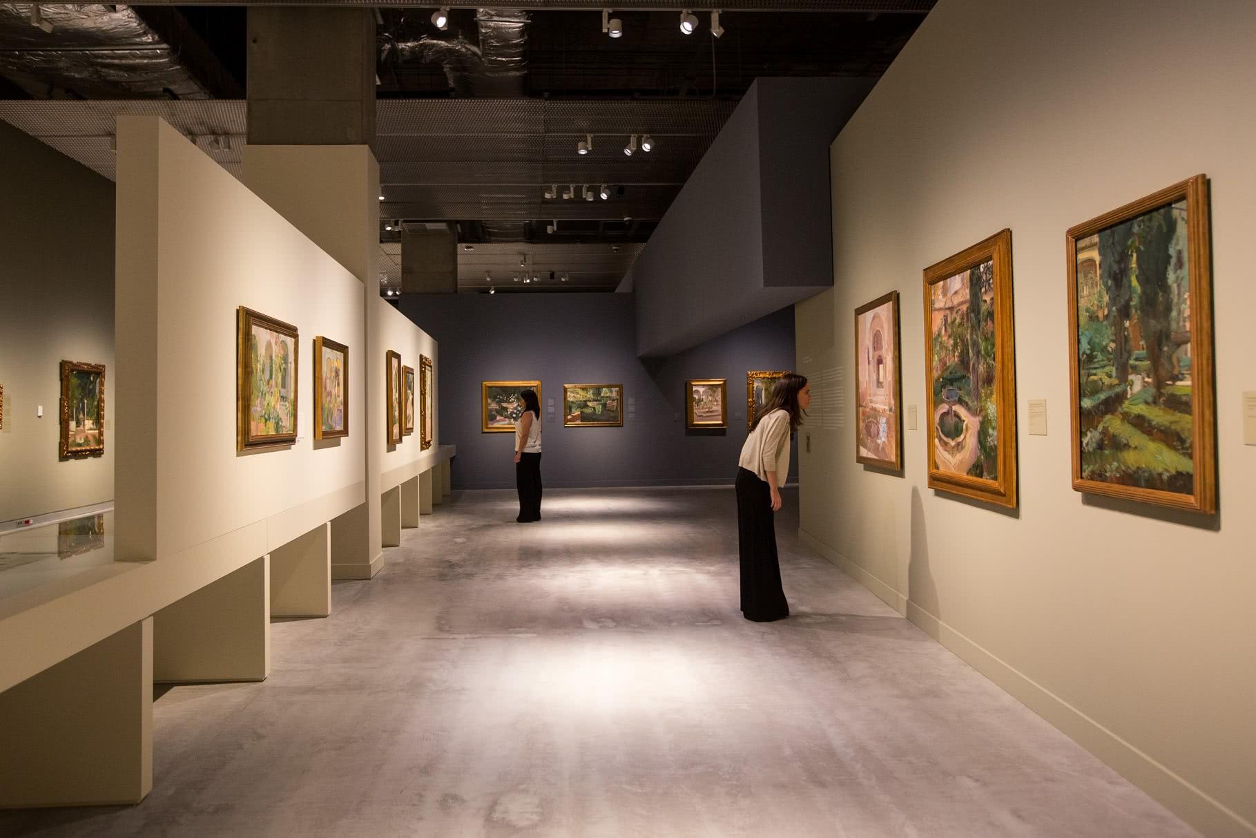 Exposición 'Sorolla. Un jardín para pintar'.